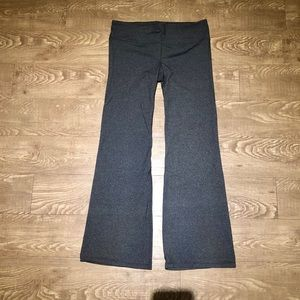 Gap Fit grey flare/bootcut pants